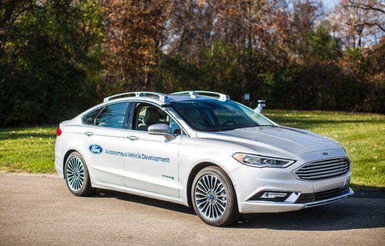 Ford testaa autonomista autoa