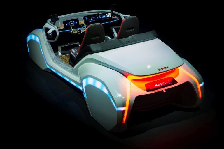 Bosch on ahtanut konseptiautonsa täyteen tulevaisuuden tekniikkaa