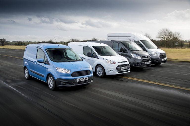 Rekisteröinti: Ford ja VW pakettiautojen kärjessä
