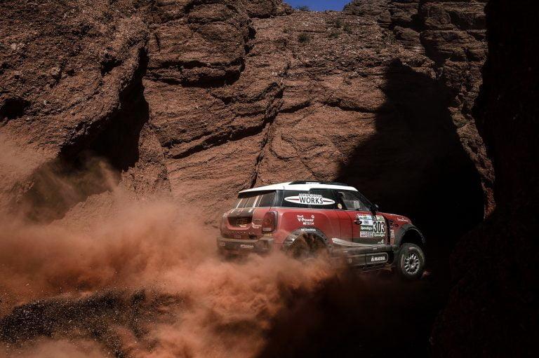Dakar: Mikko Hirvonen nousi eilen jo kokonaiskisassa kolmanneksi