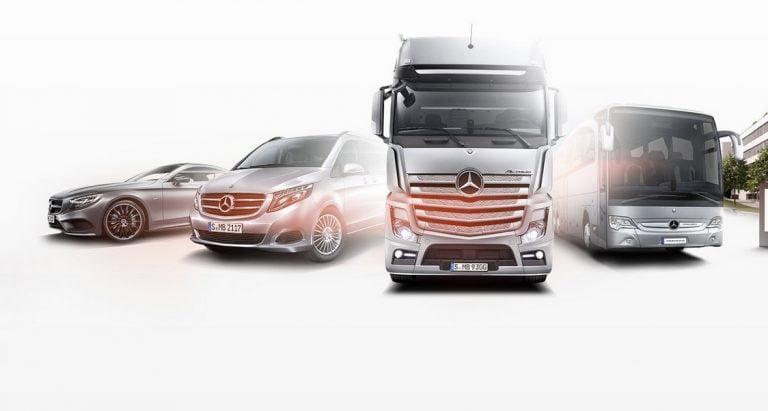 Daimlerin päämääränä sähköinen liikenne