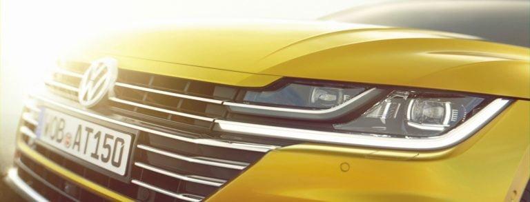 Passatia isompi Volkswagen Arteon ensiesitellään Genevessä