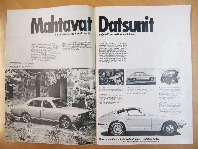 Päivän automainos: Mahtavat Datsunit