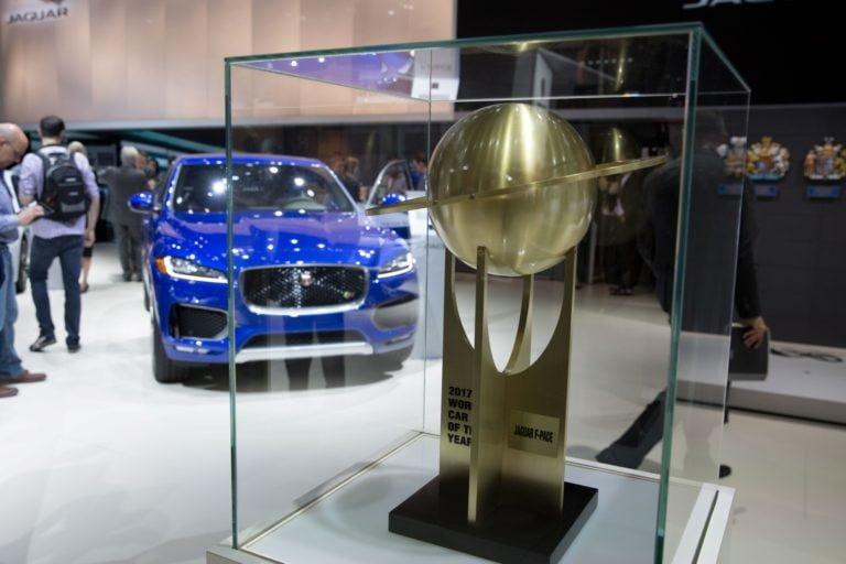 Jaguar F-Pace tuplavoittaja Vuoden Auto -valinnassa