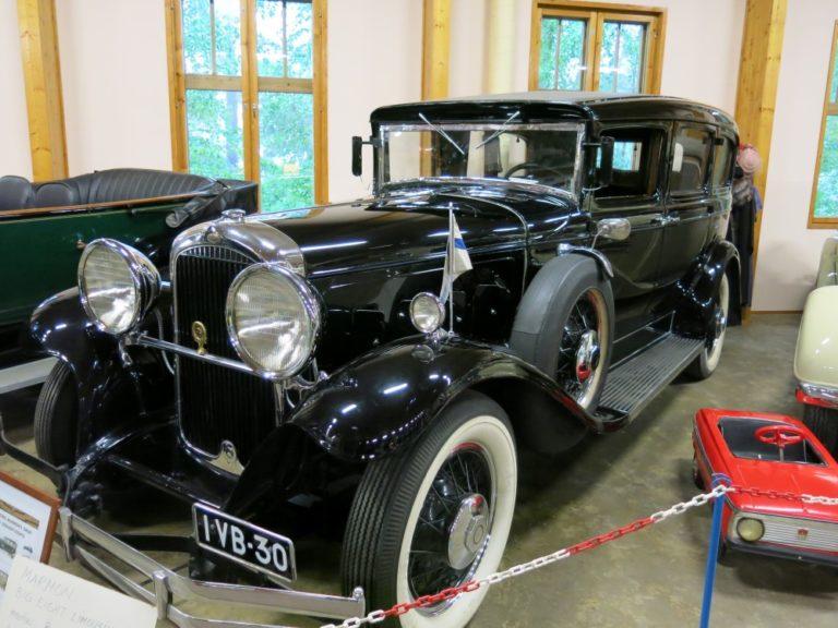 Päivän museoauto: Marmon, edistyksellinen kuninkaallinen edustusauto