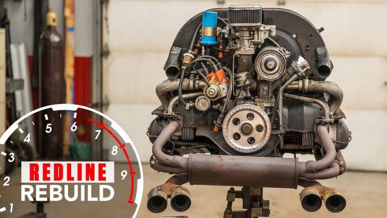 Video: Näin Kuplavolkkarin moottori puretaan, kunnostetaan ja kasataan kuudessa minuutissa!