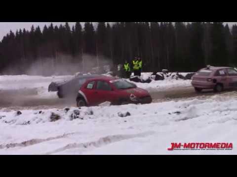 Video: Suomalaista hauskanpitoa lumisohjoisella pellolla