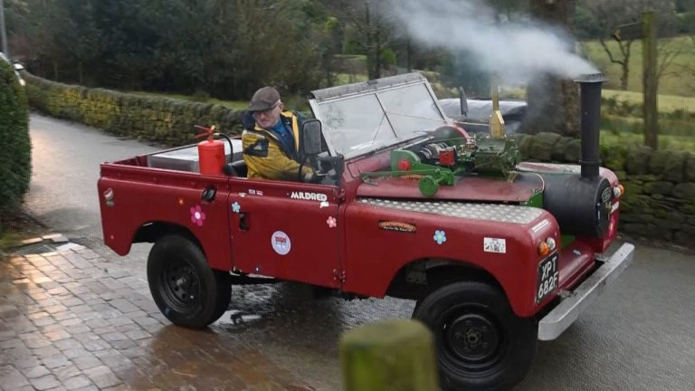 Video: Kaikkea sitä näkee – höyrykäyttöinen Land Rover