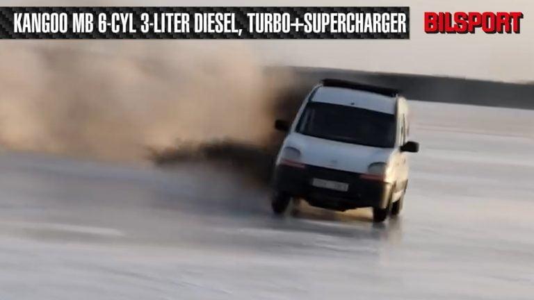 Video: Tässä on pistetty hieman lisää tehoa Renault Kangoo -malliin