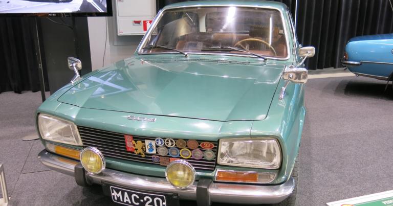 Päivän museoauto: Peugeot 404:n seuraaja valittiin Vuoden autoksi 1969!