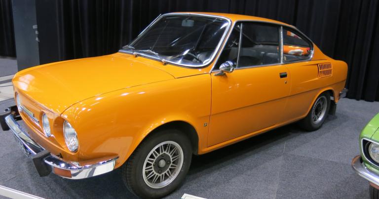 Päivän museoauto: Škodan urheilullinen coupé-malli