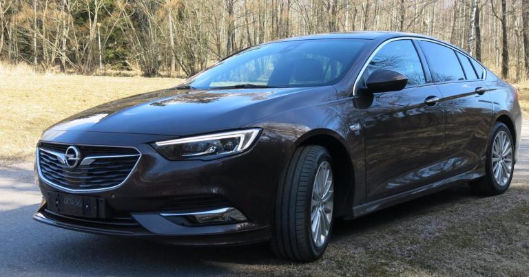 Autotoday tutustui: Opel Insignia Grand Sport – uudistunut lippulaivamalli