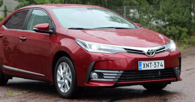 Rekisteröinti: Toyotan kova tahti jatkui huhtikuussa