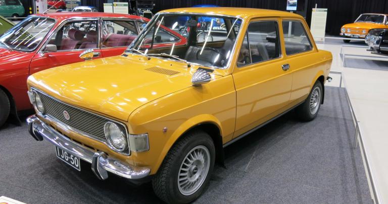 Vuoden auto: Vuonna 1970 nykyaikainen ja uusi konstruktio nosti Fiat 128 -mallin voittoon