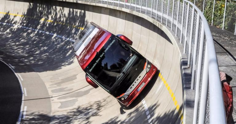Mercedes-Benzin testiradalle ei kuka tahansa pääse