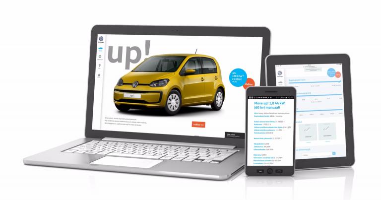 Volkswagenilta uusien autojen verkkokaupppa Suomeen