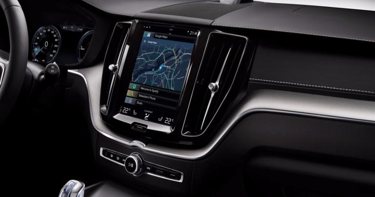 Volvoista Android-autoja