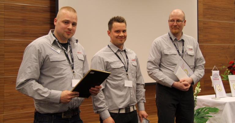 Tässä Suomen parhaat Toyota-huoltoneuvojat