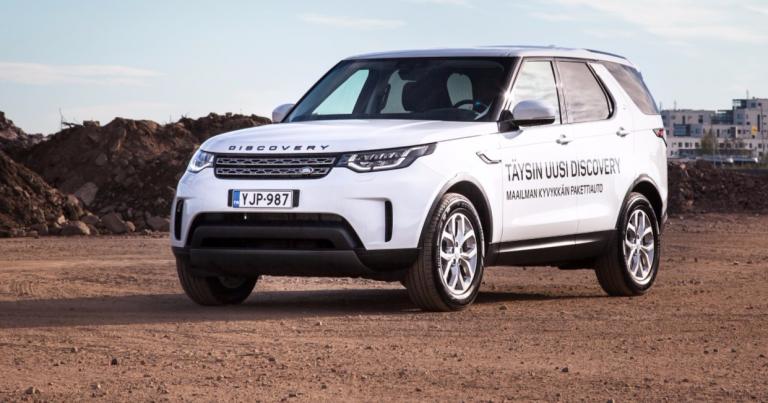 Land Rover Discoverystä tehty pakettiautoversio – yli 12 000 € henkilöautversiosta halvempi
