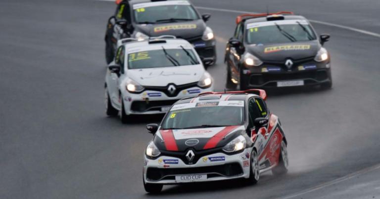 Ilmari Korpivaara Renault Clio -kisan voittoon Norjassa