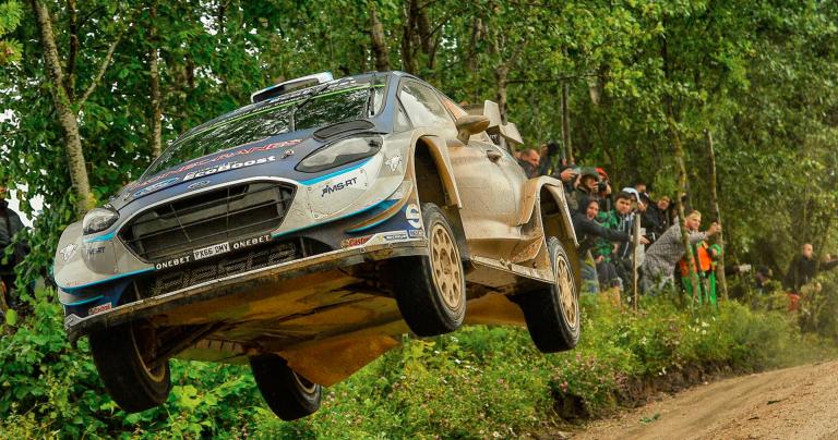 WRC: Suninen ainoa suomalainen Puolan rallin kympin sakissa