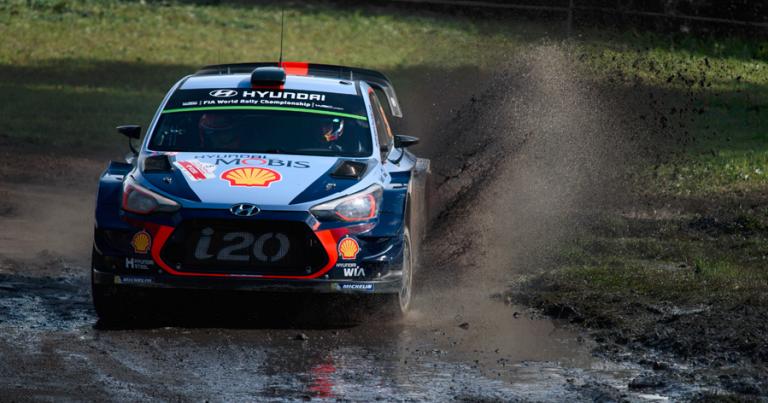 WRC: Neuville voitti, Suninen putosi yhden sijoituksen