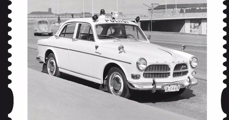 Päivän poliisiauto: Volvo Amazon Sport