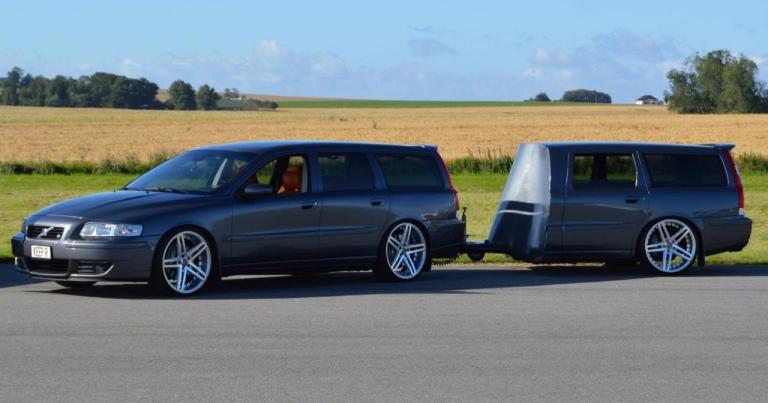 Tässä oiva matkustusyhdistelmä todelliselle Volvo-fanille!