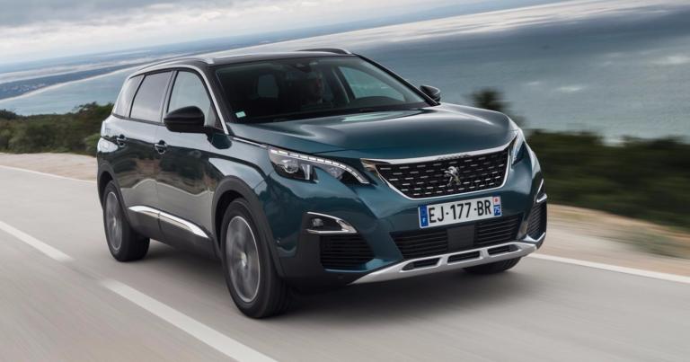 Peugeot 5008 -mallin myynti alkaa viikonloppuna