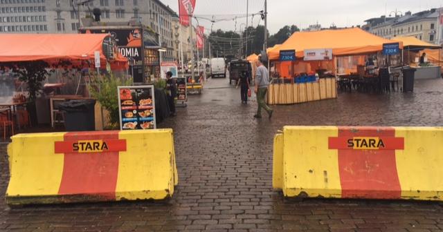Päivän kuva: Terrorismintorjuntaa Helsingissä?