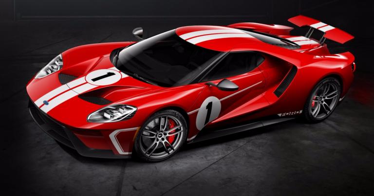 Ford GT:n uusi malli kunnioittaa vuoden 1967 Le Mansin voittoa