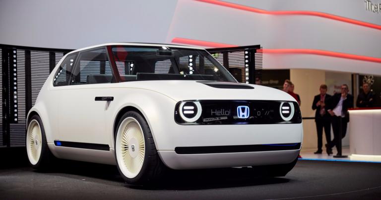 Tämä auto antaa viitteitä Hondan ensimmäisestä sähköautosta