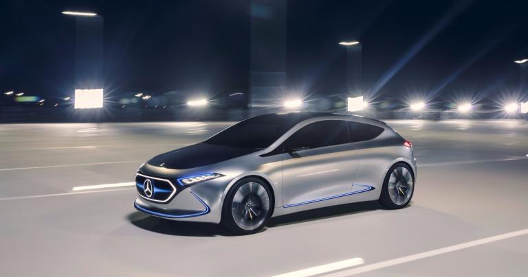 Tällainen on ensimmäinen Mercedes-Benzin kompaktiluokan sähköautokonsepti