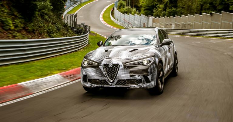 Alfa Romeo Stelvio Quadrifoglio uuteen ennätykseen Nürburgringillä