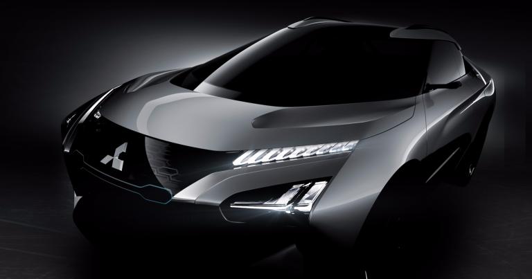Lisää kuvia Mitsubishin tulevasta sähköautosta