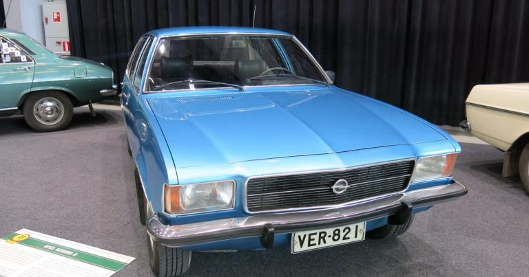 Päivän museoauto: Opel Rekord D 1977