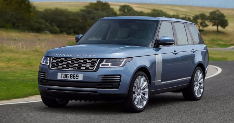 Uuden Range Rover -hybridin kokonaisteho on 404 hv