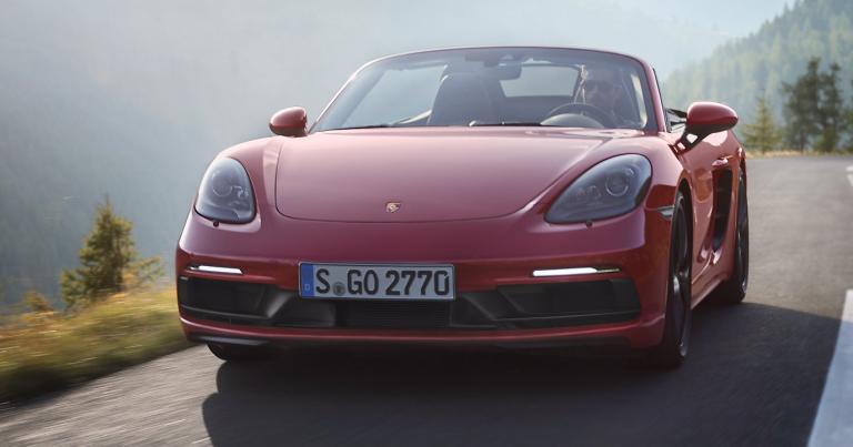 Porschen uusissa 718-malleissa on enemmän tehoa