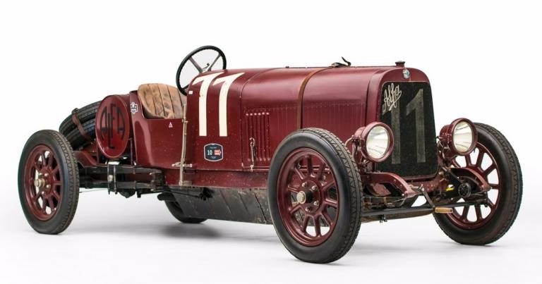 Päivän museoauto: Maailman vanhin Alfa Romeo