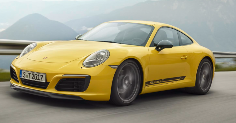 Uusi puhdasverinen urheiluauto Porsche 911 -malliperheeseen