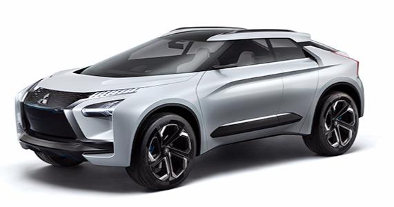 Mitsubishin tulevaisuuden katumaasturissa on kolme sähkömoottoria