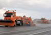 Saksassa kokeillaan kiitotien lumenaurausta robottiautoilla