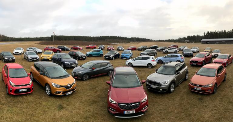 Mikä näistä autoista pitäisi valita Vuoden Auto Suomessa 2018 -tittelin saajaksi?