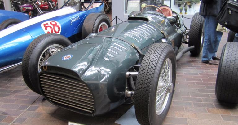 Päivän F1-auto: BRM Type 15 1950, V16-moottori, 600 hv