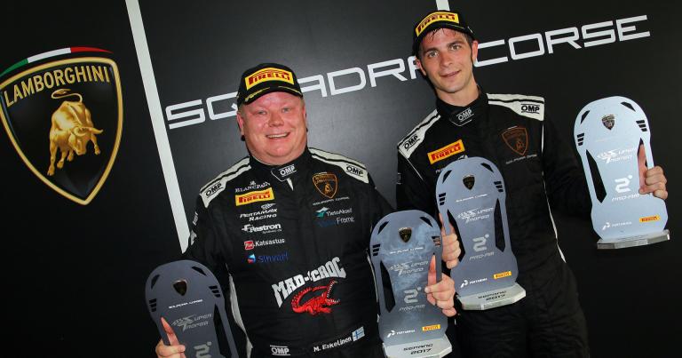 Mikko Eskelinen ajoi kakkoseksi Aasian Lamborghini-sarjassa