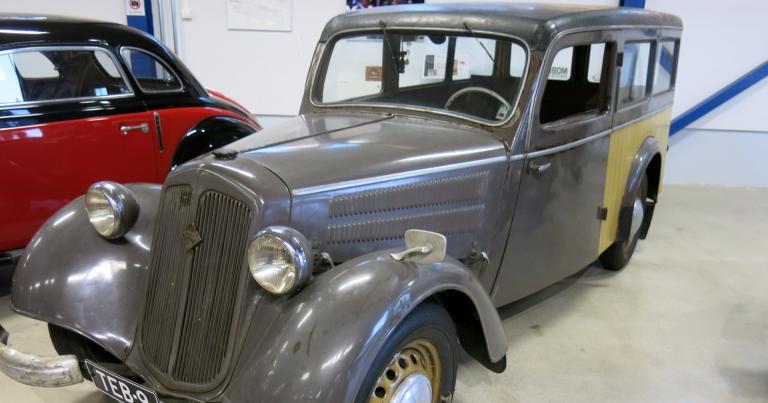 Päivän museoauto: Vaimon kehotuksesta hankittu IFA F8 1955