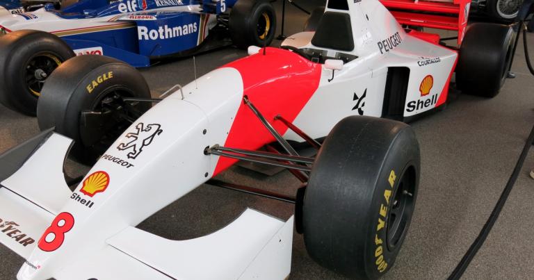 Päivän F1-auto: Mika Häkkisen McLaren 1994