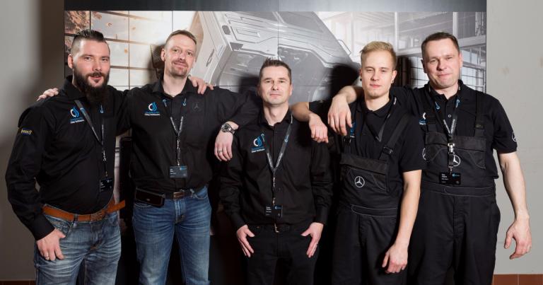 Kaksi pronssipaikkaa Suomeen Mercedes-Benzin kuorma-autojen huoltokisassa