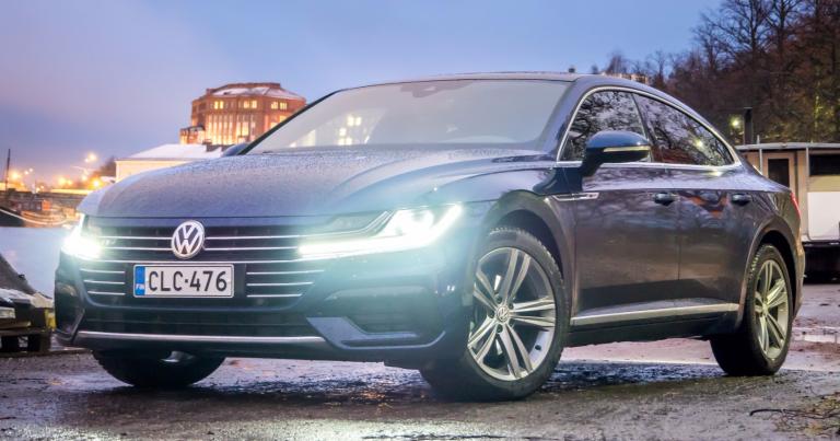 """Autotoday testasi: Volkswagen Arteon – """"harmonisia linjoja ja luksusomaista tunnelmaa"""""""