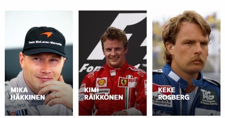 F1-kuljettajille kunniagalleria – Suomesta kolme kuljettajaa mukana